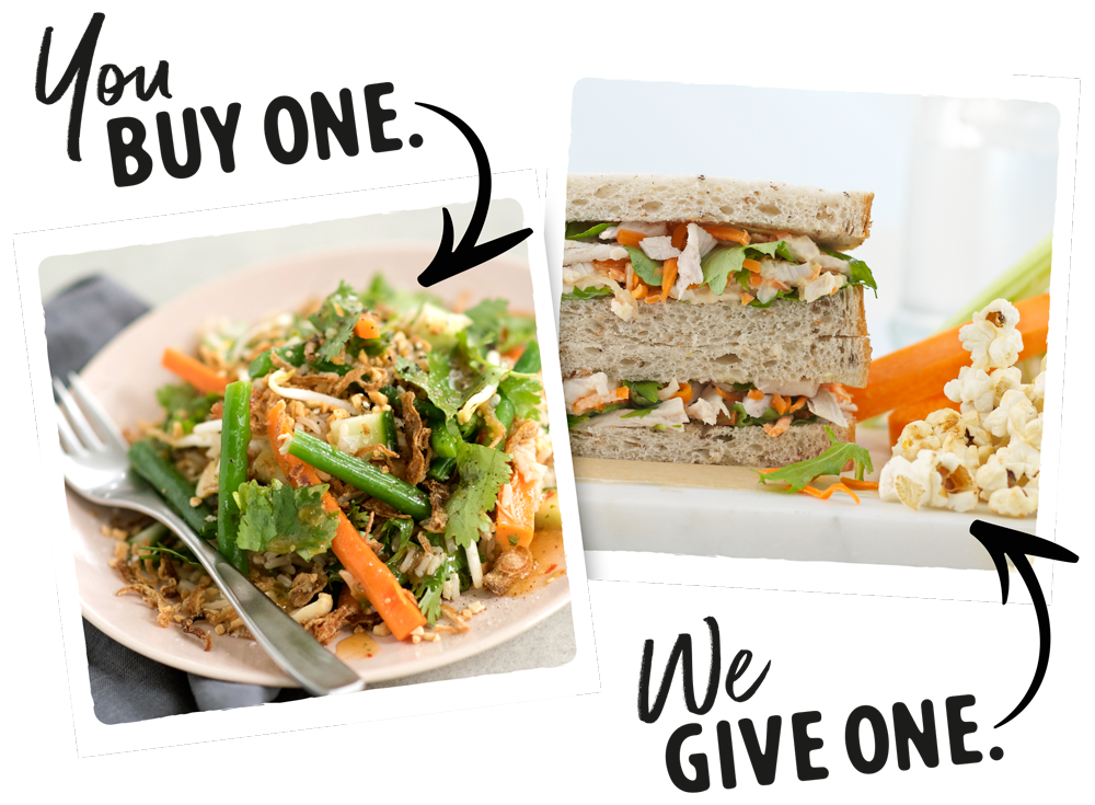 Eat my lunch buy one give one 3 your purchase really counts for every lunch you buy we give a freshly made yummy school lunch to a kiwi kid in need forumfinder Choice Image
